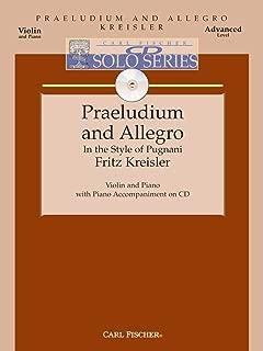 Praeludium And Allegro - Violin & Piano - Advanced Level -BK/CD
