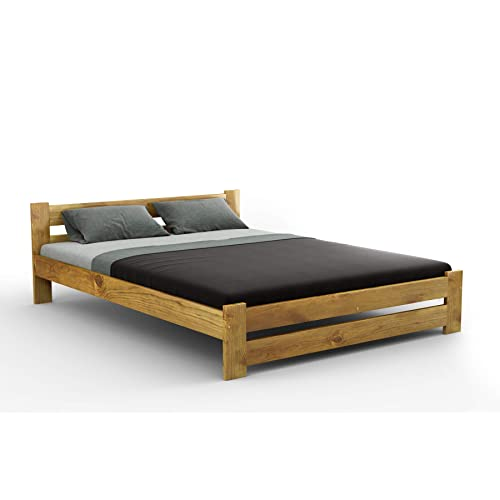 Wooden King Size Bed Frame Amazon Co Uk