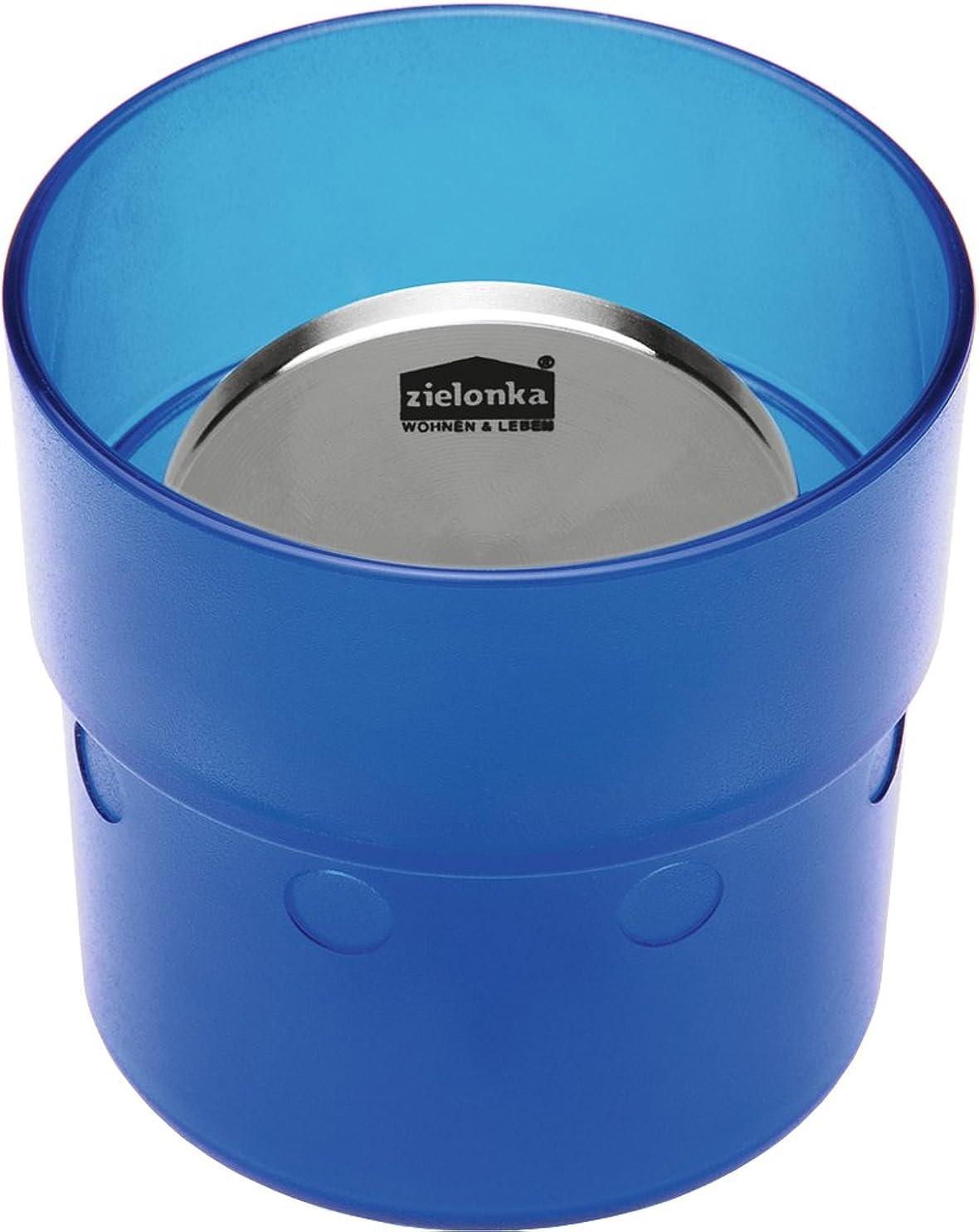 ほのめかす葡萄しなければならないzielonka (ジロンカ) ワールドクリエイト 消臭 スメルキラー 冷蔵庫用 カップ ブルー 62146