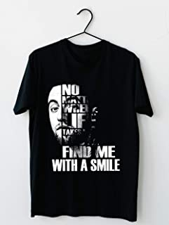 Miller No Matter Where Life Takes Me You'll Find Me With A Smile Rip Mac T shirt Hoodie for Men Women Unisex