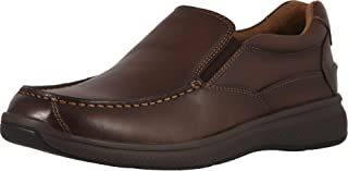 فلورشايم Great Lakes Moc Toe Slip-On Brown Smooth 11