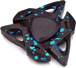 Hand Spinner Triangular Design Metal Fidget Spinner Fidget Gyro Toy EDC Focus Meditation Break Bad Habits ADHD with Premium Bearing