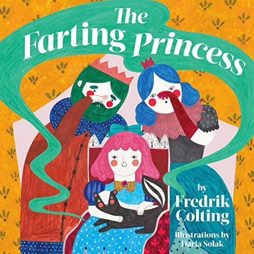 The Farting Princess audiobook cover art