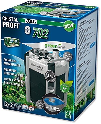 JBL- CristalProfi e702 greenline Außenfilter für Aquarien von 60-200 Litern
