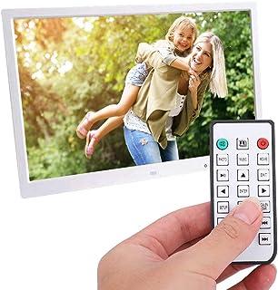 17inch HDMI Portable Movie Player Digital Photo Frame Album 1709T (White,100V‑240V)