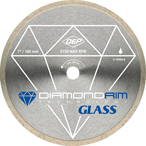 QEP 7-Inch Glass Tile Diamond Blade