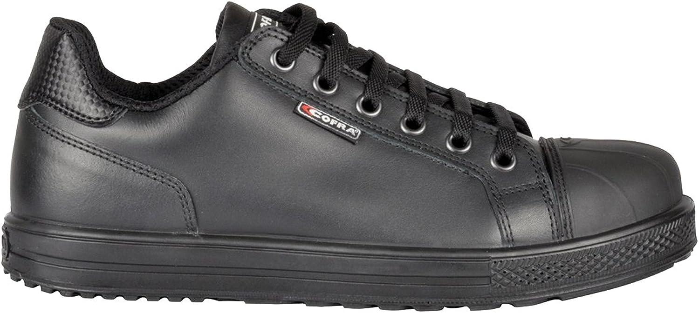 Cofra 35071-001.W41 Safety shoes Mismatch S3 SRC Size 41 in Black