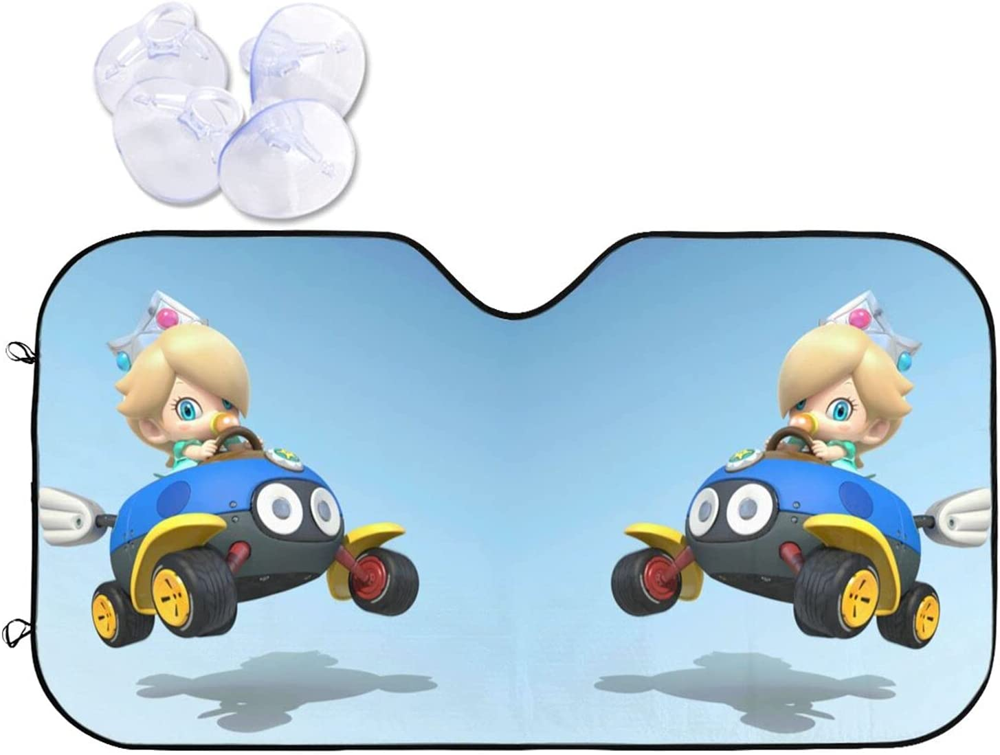 KDHASLDNF Mario Kart Superior 8 The Sun Hood Folds Your Vehi Houston Mall Protects and
