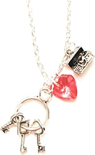 Someday My Prince Will Come Bracelet avec breloque pomme rouge Blanc neige
