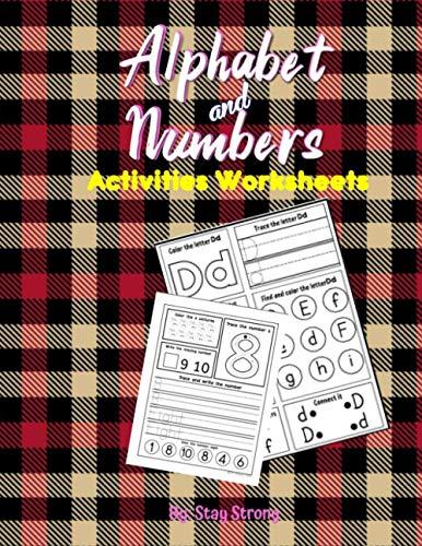 Alphabet and Numbers Activities Worksheets: Alphabet Tracing Worksheets A-Z , Numbers Tracing Worksheets 1-10, Preparing for Kindergarten Worksheets