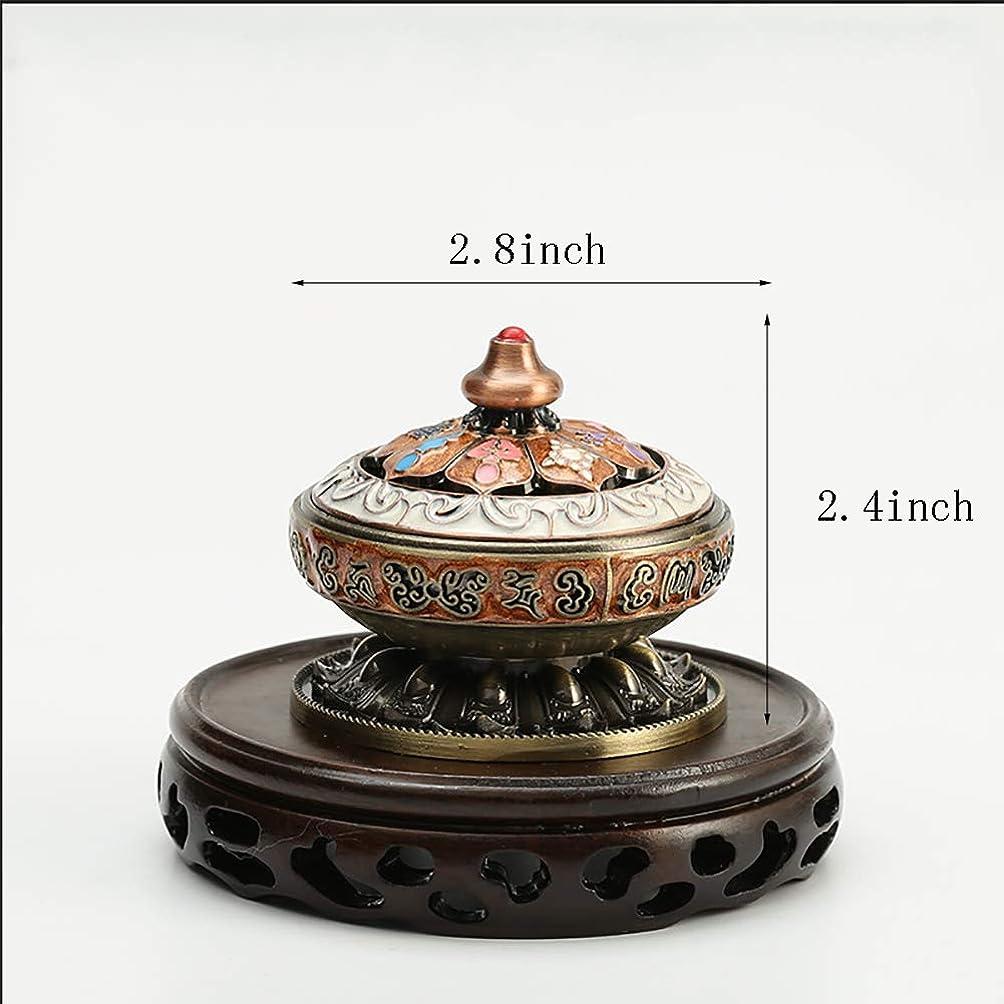自分チャンピオンスタック像 フレグランス 炉 サンダルウッド 炉 家庭用 香炉 ハンドメイド アート お香炉 ホームデコレーション 手作り 卓上装飾 2.8inch 74hdmgx-E2.8inch