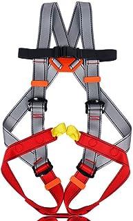 HPDOE Arnes Escalada Un arnés de Cuerpo Completo para Juegos Infantiles y Aventuras de montaña para niños de 3 a 14 años,L