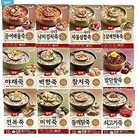 韓国の即席スープ、栄養満点、エクスプレス、軽食代用 DONGWON.YANGBANSOUP(420G POUCH TYPE) (Chestnut Sweet Red Bean Porridge (420G))