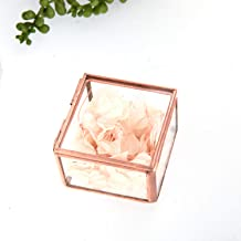 clear glass trinket boxes