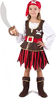 Deluxe Pirate Girl Costume Set