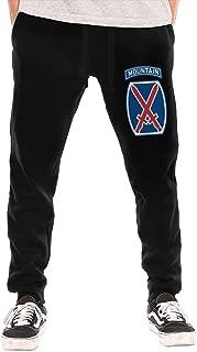 Lalae-ltd US Army 10th Mountain Division Mens Sweatpants Men's Jersey Pants