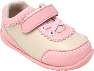 Momo Baby Girls First Walker Toddler Mia Leather Sneaker Shoes