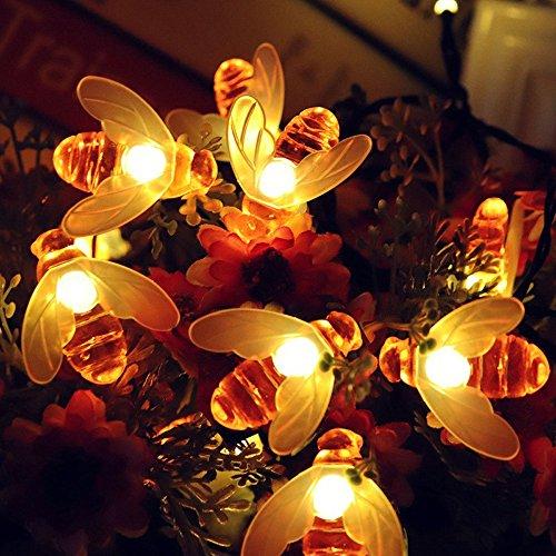 Feuer Blumen Lichterkette Weihnachtslichterkette mit Fernbedienung für