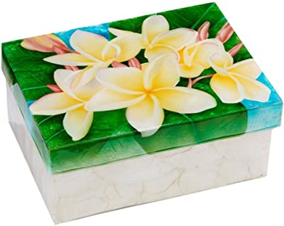 Capiz Shell Decorative Storage Trinket Box 8