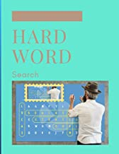Hard Word Search: This book is word searches for adults for word search books for teen,kids with solutions. [Idioma Inglés]