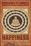 1art1 62492 Buddhismus Poster - Glück Nimmt Nie Ab Wenn
