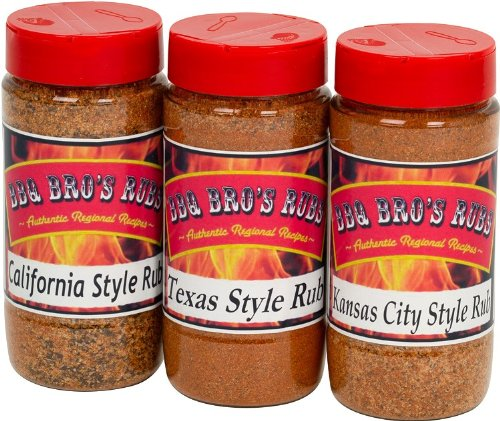 BBQ BROS RUBS {Western Style}