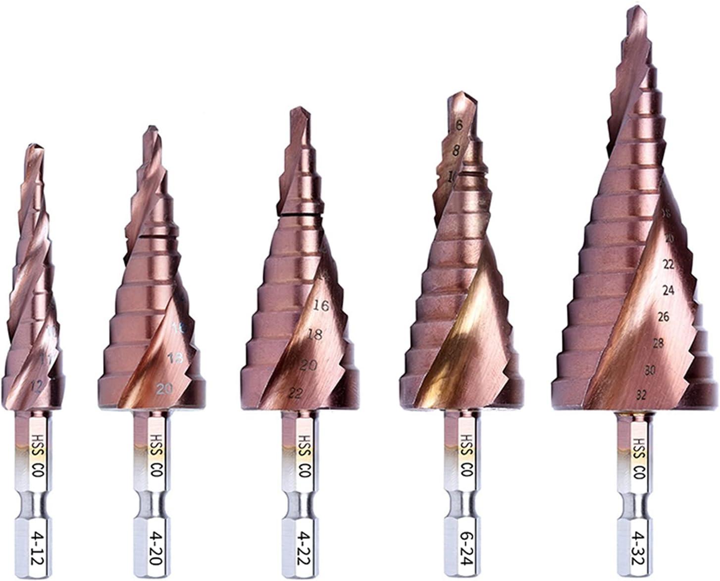 Cobalt HSS Step Drill Bit High-Speed Steel Hex Me Great interest Shank Finally resale start Cone