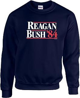 Trenz Shirt Company Ronald Reagan Bush '84 Crewneck Sweatshirt