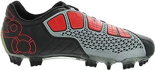Nike Total 90 Laser III K-FG Soccer Cleats (7) Black/Red