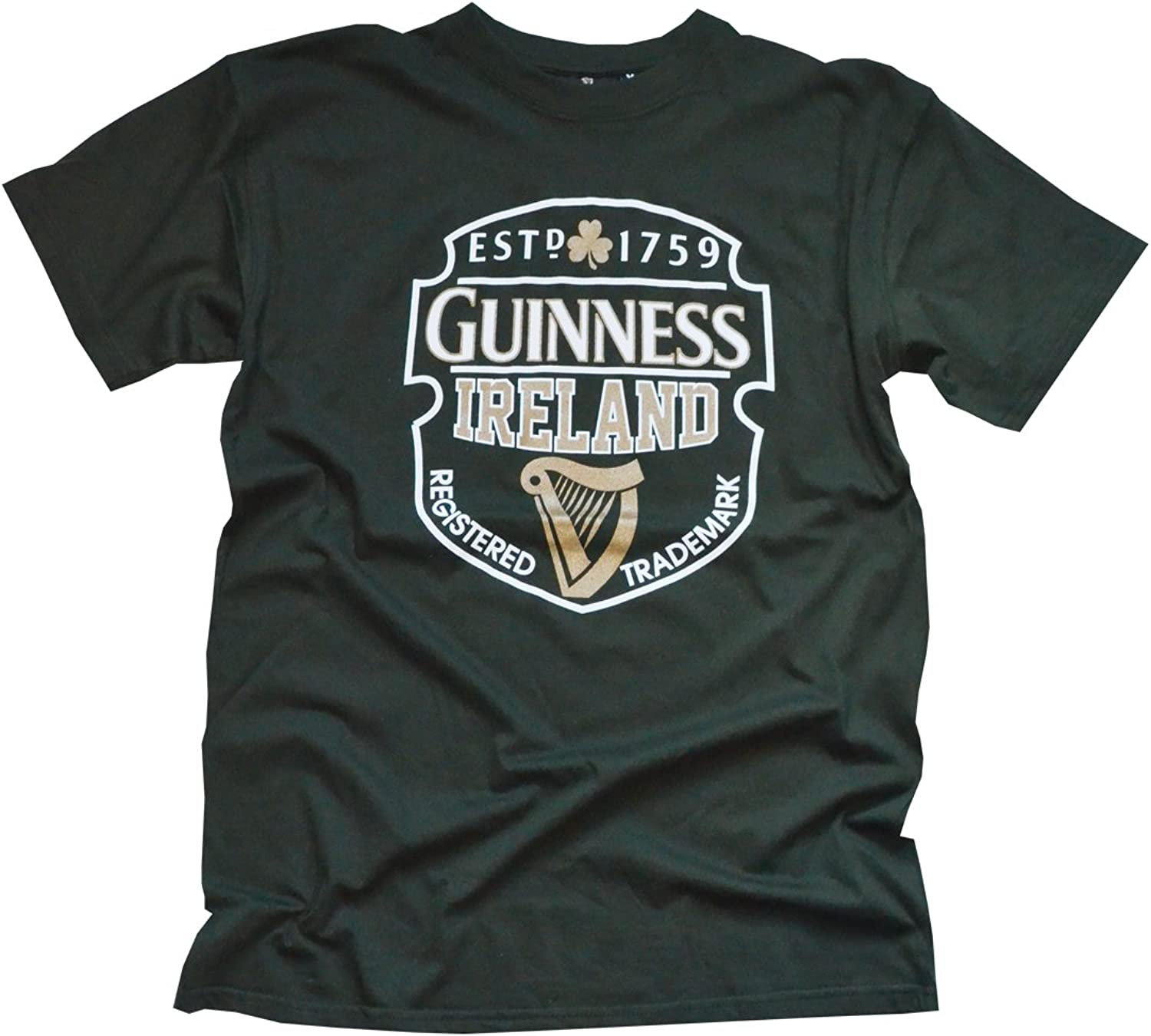 dc11ec6a9bc8 Bottle Green Harp TShirt Guinness Ireland nuqowi5612-Sporting goods ...
