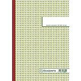 Exacompta 3301E Durchschreibbuch kariert 5x5 29,7/21 50 Blatt dreifach durchschreibend