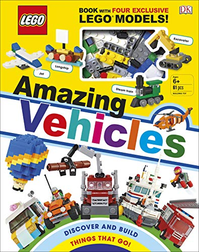 LEGO Amazing Vehicles: Includes Four Exclusive LEGO Mini Models [Idioma Inglés]