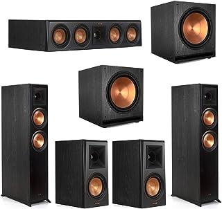 Klipsch5.2 Ebony Home Theater System - 2 RP-6000F, 1 RP-404C, 2 RP-500M, 2 SPL-150 Subwoofers