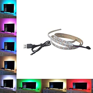 Little Story 5V 5050 15SMD/50CM  RGB LED Strip Light Bar TV Back Lighting +BT 4.0 Control