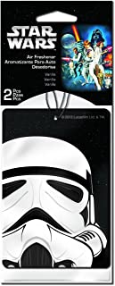 Plasticolor 005546R01 Star Wars 'Stormtrooper' Air Freshener, (Pack of 2)