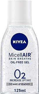 NIVEA Micellar Eye Makeup Remover Gel, Oil-Free, 125ml