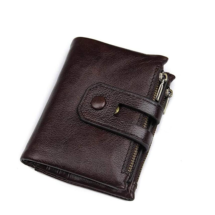 サイクロプス悪党喜んでビジネスカジュアルウォレットユニセックスソフトレザー財布レトロショートウォレット15カードスロットカードパッケージ