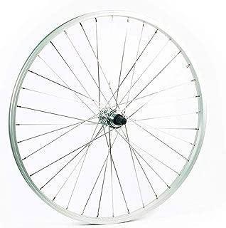 Sta Tru Rear Wheel 650B/584x21mm Quick Release Axle with 36 Spokes 5-8 Speed, Silver