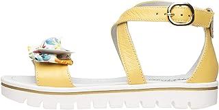 Nero Giardini E031612F - Sandalias Teens para niña de piel y tela