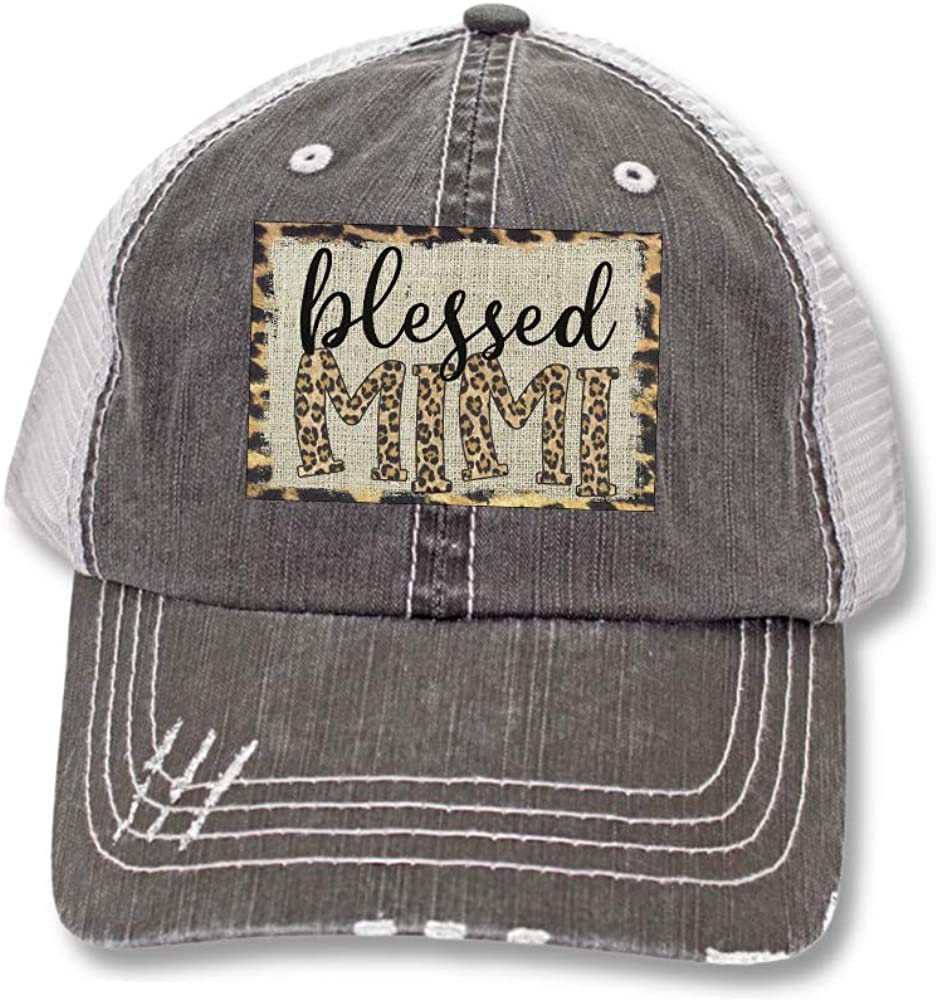 Blessed Mama Gigi Nana Mimi Trucker Hats Baseball caps Gigi Mimi Nana Gifts