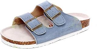 Sandales Mode Hommes Femme Sabots Chaussures Liège Mules d'été Plage Cuir Antidérapant Bain Pantoufles