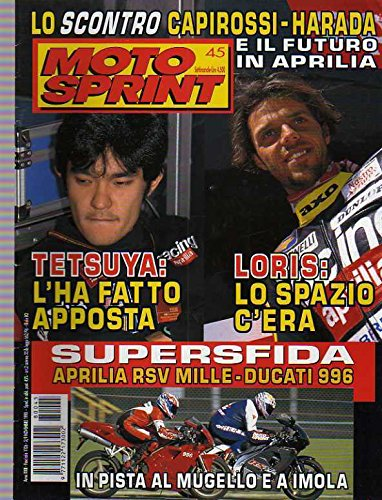 Motosprint 45 del Novembre 1998 Aprilia RSV Mille, Ducati 996 Capirossi