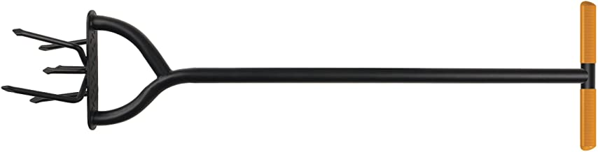 Fiskars 79906935J , 40 Inch Long Handle Steel Tiller