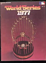 1977 world series program