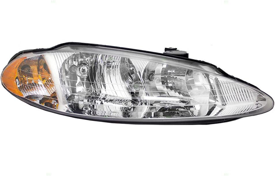 Brock Replacement Passenger 予約 Headlight with Compatible 情熱セール 1998-2004
