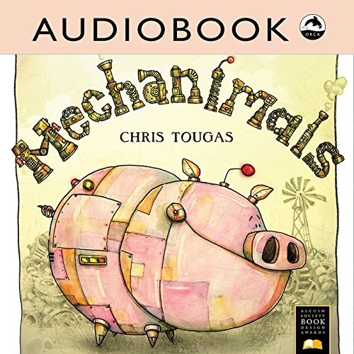 Mechanimals audiobook cover art