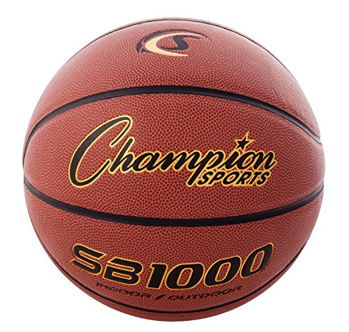 Find Bargain Champion Sports Composite Game Basketballs, Cordley Composite Basketball, Official (Siz...