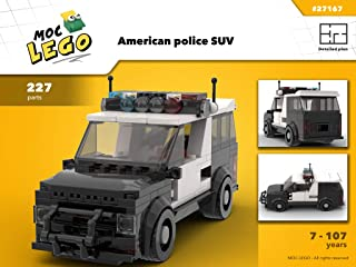 American police SUV (Instruction Only): MOC LEGO