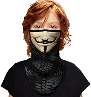 ShopINess Pañuelo Bandana con Aros de Oreja para niños - Vendetta