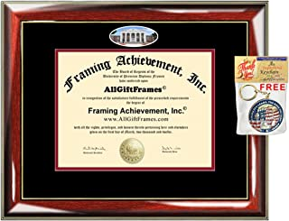 University of Mississippi Diploma Frame ole miss School Campus Photo Degree Framing Double mat Graduation Gift Bachelor Master MBA Doctorate PHD Certificate Holder Case